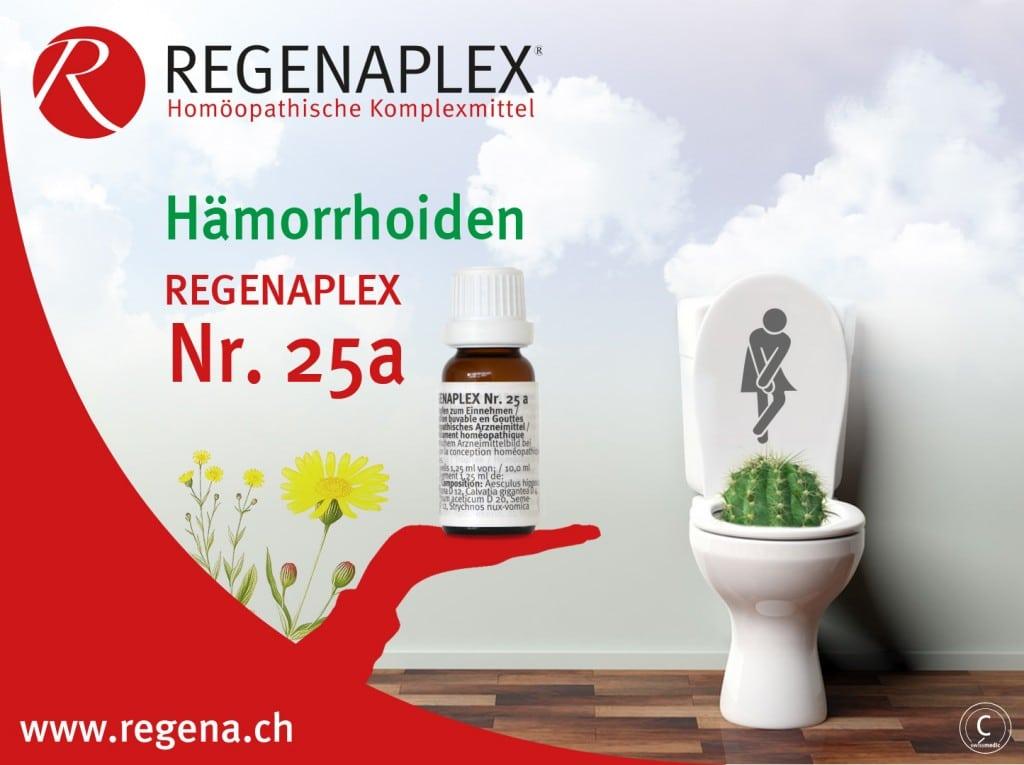REGENAPLEX Nr 25a - Hämorrhoiden