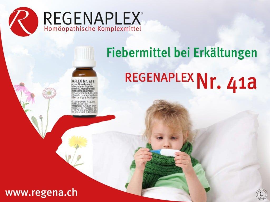REGENAPLEX Nr 41a - Fiebermittel bei Erkältungen