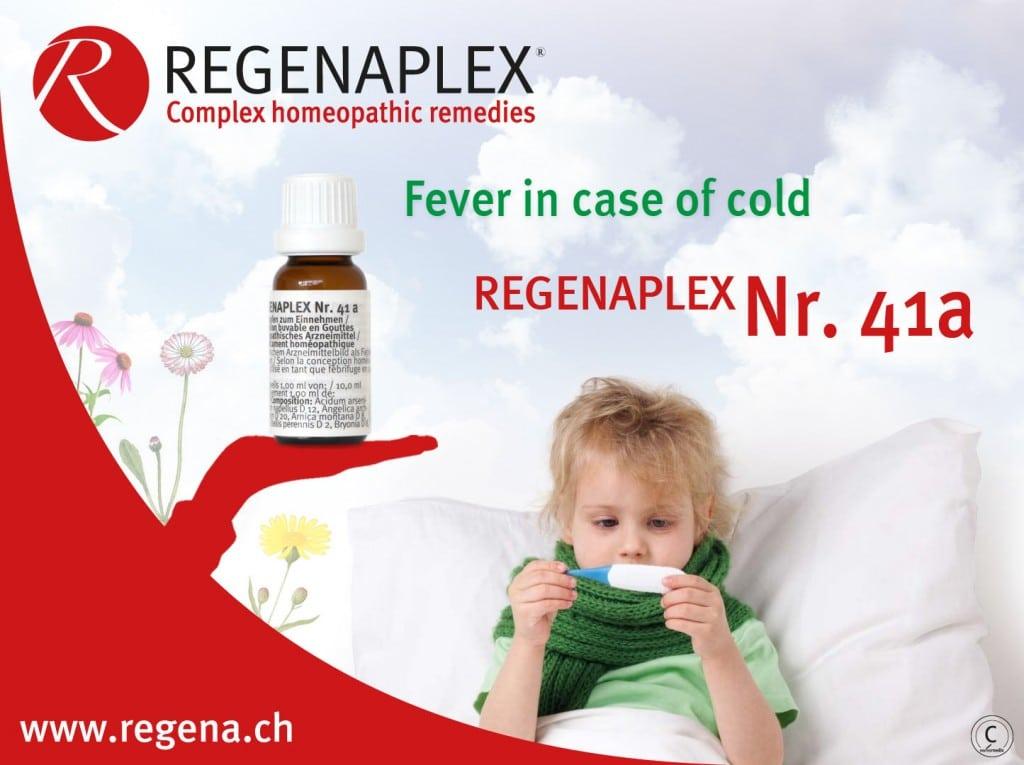 REGENAPLEX Nr 41a - Fever in case of cold