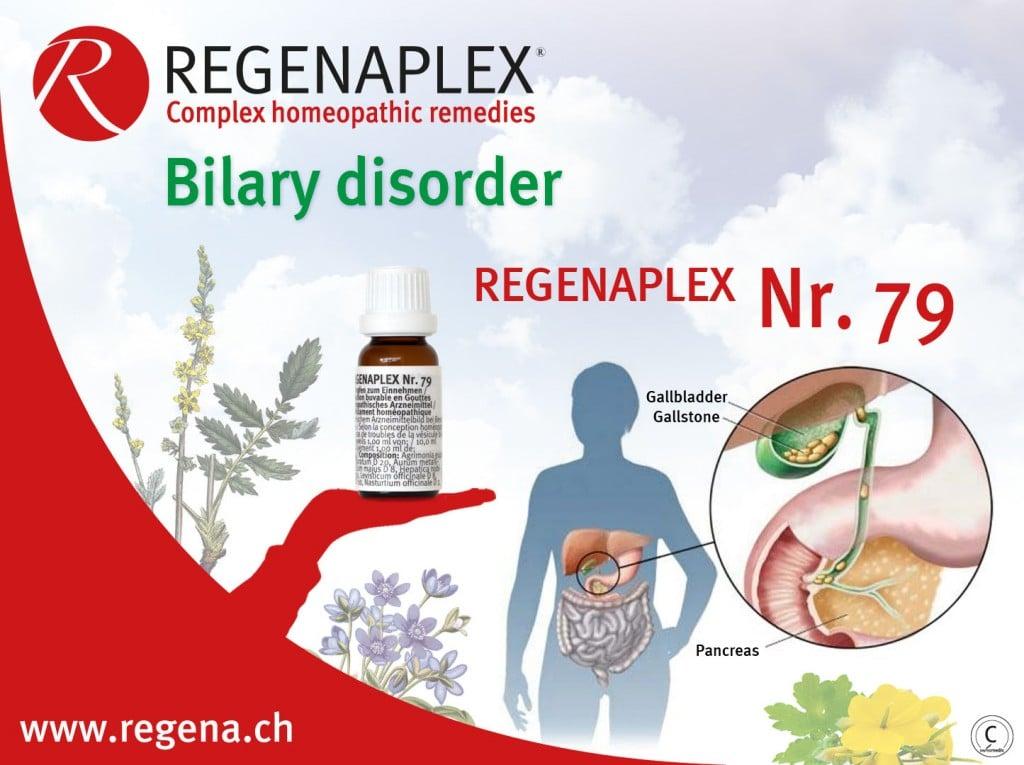 REGENAPLEX Nr 79 - Bilary disorder